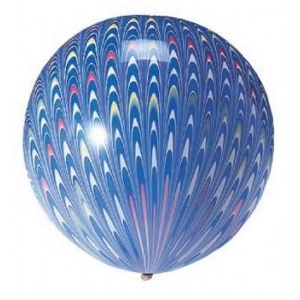 45cm round latex balloon