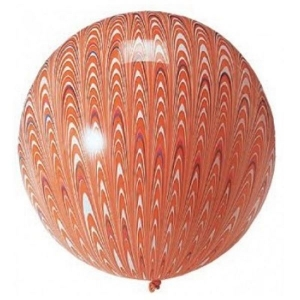 45cm round latex balloon