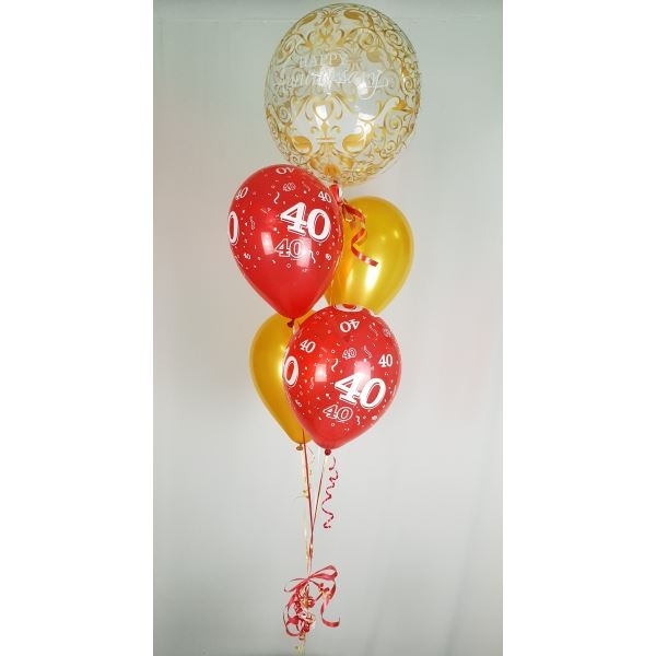Bubble Balloon Anniversary Bouquet